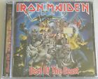 IRON MAIDEN BEST OF THE BEAST CD SEALED MADE IN ARGENTINA W/ BLACK STICKER