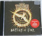 GLENN TIPTON BAPTISM OF FIRE CD MADE IN BRAZIL 1997 WITH FC STICKER JUDAS PRIEST