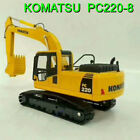 143 Komatsu PC220 8 Hydraulic Excavator Diecast Toy Model for GiftCollection