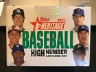 2013 Topps Heritage High Number Baseball - Partial Factory Set 90 100 w Yelich
