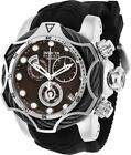 New Mens Invicta 27711 Reserve Brown Dial Swiss Quartz Chronograph 53mm Watch