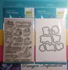 RARE Lawn Fawn Simon Says Stamp MERRY CHRISTMOUSE Stamps  Cuts Dies STAMPtember