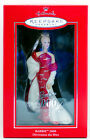 2000 BARBIE Club Exclusive NEW Hallmark Porcelain Ornament RED GOWN Beautiful