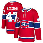 #47 Kenny Agostino Jersey Montreal Canadiens Home Adidas Authentic