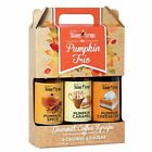 Skinny Syrups Trio Pack Pumpkin Spice Caramel & Cheesecake Sugar Free Syrup Set