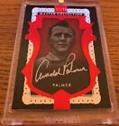 2016 ALL TIME GREAT MASTER COLLECTION RED ARNOLD PALMER AUTO GOLF CARD PGA 11 20