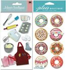 Jolees Stickers BAKING DONUT SNOW GLOBES Kitchen Cake Utencil Snack Breakfast