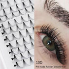 SKONHED 16 lines 10D Pre made Russian Volume Fan Lashes Individual Lashes Hot