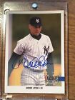 2017 Topps Archives Snapshots Derek Jeter autograph 4 4 on card autograph