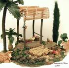 FONTANINI ITALY 5 EARLY FARM SCENE w SHELTER 4PC NATIVITY VILLAGE SET 50505 MIB