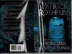 Patrick Rothfuss SIGNED PERFECT THE SLOW REGARD OF SILENT THINGS FIRST EDITION