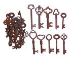 Antique Iron Skeleton Keys  Lot of 100 Steampunk