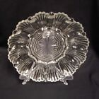 Anchor Hocking Deviled Egg Oyster Plate Clear Glass Shell Design 12 Halves 10