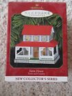 1999  Hallmark Farm House Town and Country Series 1st in series Ornament