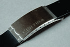 CERTINA Rubber Stap With Swiss  INOX Deployment Buckle 25 / 22 mm Lugs @ $65.00