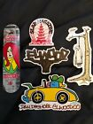 RARE Skateboarding Sticker Pack GONZ THIEBAUD SLAP MAG ELWOOD REAL