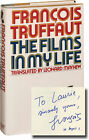 Francois Truffaut THE FILMS IN MY LIFE Signed First Edition 1978 66819