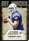 Andrew Luck Signs Deal with Upper Deck, Revealed as Trade UD Mystery Redemption 16