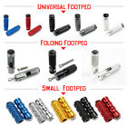 Pair CNC Aluminum Folding Motorcycle Rearset Footrest Footpeg Foot Peg Pedal USA