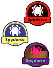 SPYDERCO KNIVES STICKER DECAL WHITE  BLACK RED BLUE YELLOW  PINK PURPLE TEAL