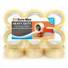 2 Heavy-duty 2.7mil Clear Shipping Packing Moving Tape 120 Yards360 Ea