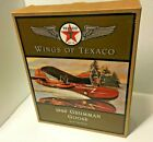 Vintage DieCast 1996 ERTL 1940 Grumman Goose Wings Of Texaco Oil Airplane Bank