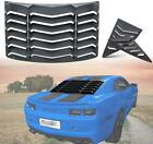 Rear  Side Window Louvers Sun Shade Cover for Chevy Chevrolet Camaro 2010 2015