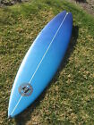 TIME TO SURF NEW HOLLISTER TRI FIN SHORTBOARD SURFBOARD 65