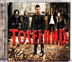 TOSELAND- LIFE IS BEAUTIFUL CD (2013) **HAND SIGNED AUTOGRAPH COVER** James
