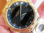 BREITLING 18K ALL GOLD AEROSPACE WATCH WITH 18K GOLD UTC MODULE 2ND WATCH