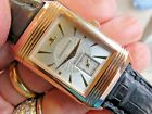 JAEGER-LECoultre 18K ROSE GOLD REVERSO AUTOMATIC 42 X 26 MM MAN'S WATCH ORIGINAL
