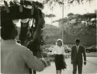 Michelangelo Antonioni LECLISSE Original photograph from the set of 144222