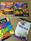 Getting STARTED WEIGHT WATCHERS PTS COMPLETE FOOD DINING OUT COMPANION BOOKS SET