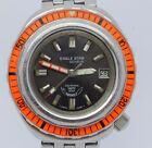 VINTAGE Eagle Star Squale 40mm Mens Automatic Steel Divers Watch 2001 Saphir