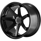 20x9 Black Ferrada FR1 Wheels 5x425 +35 Fits Jaguar XKR S F Type XJR