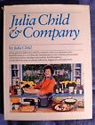 Julia Child  Company SIGNED by French Chef JULIA CHILD Hardcover Dust Jacket