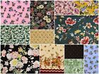 LOADS OF FQs 50 3999 Floral TOP Quality Fabric quilting FREE SHIP