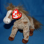 TY BEANIE BABIES  FILLY THE HORSE WITH GOLD SPARKELS (10 YEAR ANNIVERSARY)