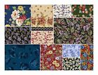 FQs FQs FREE SHIP 3999 Floral TOP Quality Fabric quilting sew
