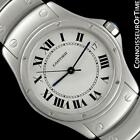 Cartier Santos Ronde Unisex 31mm Stainless Steel Watch - Mint with Warranty