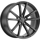 20x10 Black Advanti Racing Torcere Wheels 5x45 +42 Fits Lexus IS F GS350