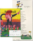 Ted Hughes FOOTBALL Signed Limited Edition First Edition 1995 120126