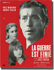 Alain Resnais WAR IS OVER LA GUERRE EST FINIE Original pressbook for 141085