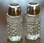 Free Ship - Anchor Hocking Wexford Salt and Pepper Shakers