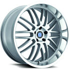 17x8 Silver Beyern Mesh Wheels 5x120 +15 BMW 5 SERIES 525 528 530 540