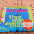 Fanatix (2) ‎– This Thing Of Ours XTCK-00033 JAPAN CD OBI E93-83