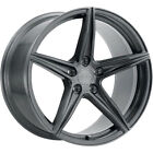 20x9 Grey XO Auckland Wheels 5x425 +35 Fits Jaguar XKR S S Type XFR