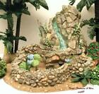 FONTANINI ITALY 5 RETIRED FLOWING WATER LILY POND VILLAGE NATIVITY 94820 GCIB