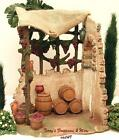 FONTANINI ITALY 75 WINE MAKER SHOP NATIVITY VILLAGE BLDG ACCESSORY 54844 NIB