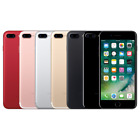 iPhone 7 Plus 32 128 256G iOS Black Gold Silver Pink Factory Unlocked Smartphone